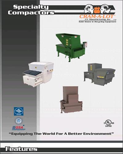 Apartment Garbage Trash Waste Compactor