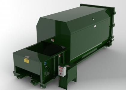 Self-Contained Trash Compactor